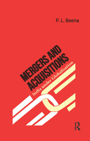 Mergers and Acquisitions India under Globalisation book cover