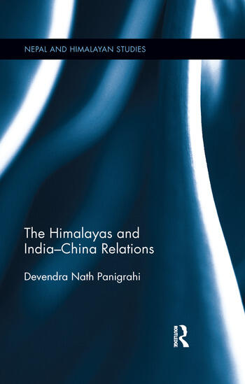 The Himalayas and India-China Relations book cover