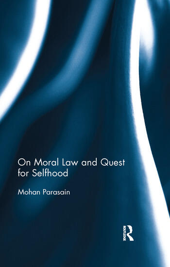 On Moral Law and Quest for Selfhood book cover