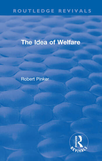 The Idea of Welfare book cover
