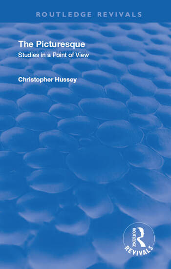 The Picturesque Studies in a Point of View book cover