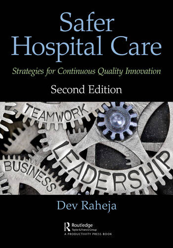 Safer Hospital Care Strategies for Continuous Quality Innovation, 2nd Edition book cover
