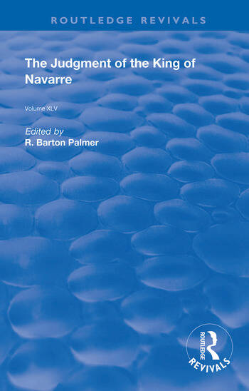 The Judgment of the King of Navarre book cover