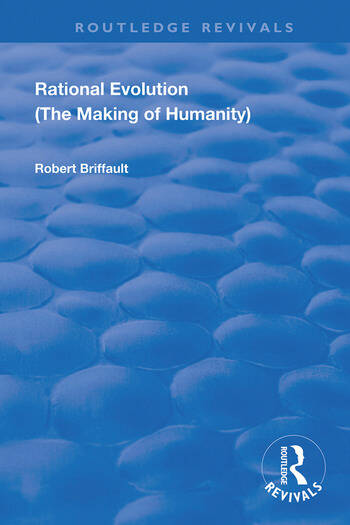 Rational Evolution The Making of Humanity book cover