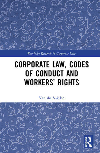 Corporate Law, Codes of Conduct and Workers' Rights book cover