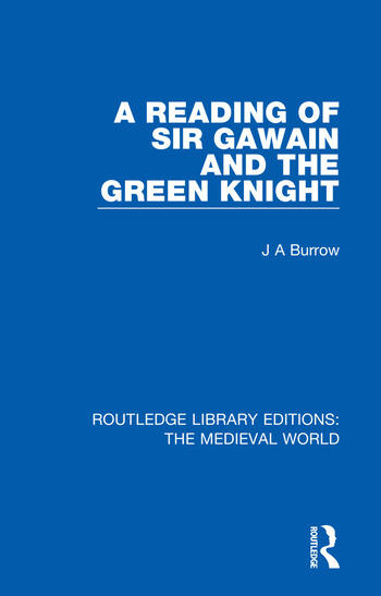 A Reading of Sir Gawain and the Green Knight book cover