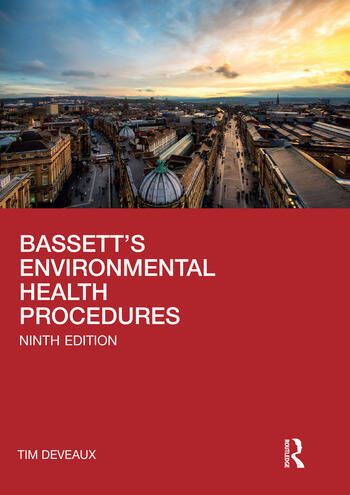 Bassett's Environmental Health Procedures book cover