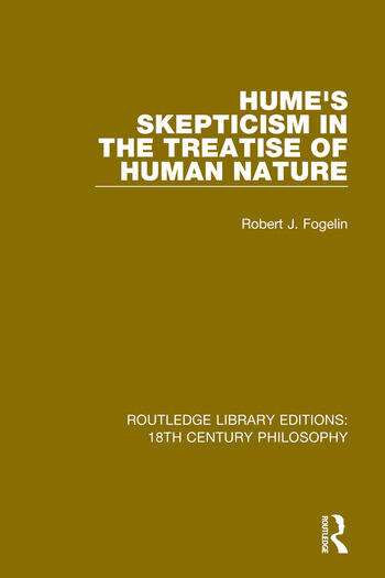 Hume's Skepticism in the Treatise of Human Nature book cover