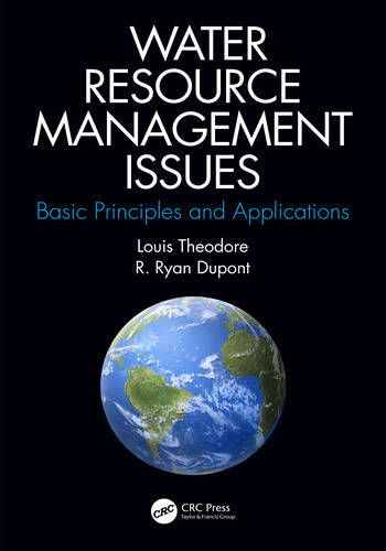 Water Resource Management Issues Basic Principles and Applications book cover