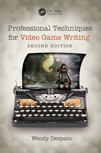 Professional Techniques for Video Game Writing book cover