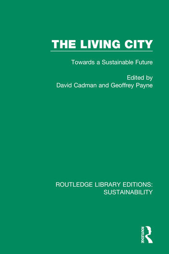 The Living City Towards a Sustainable Future book cover