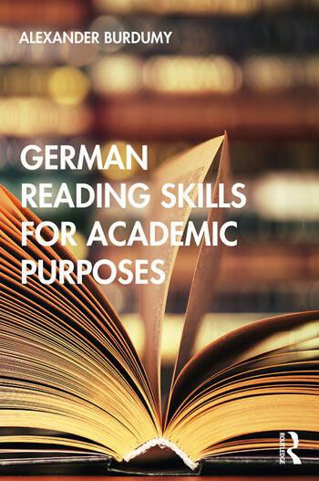 German Reading Skills for Academic Purposes book cover