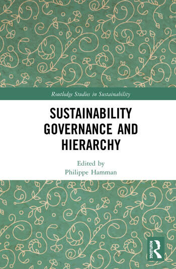 Sustainability Governance and Hierarchy book cover