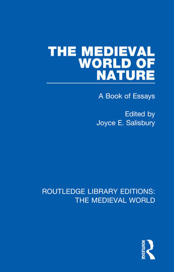 The Medieval World of Nature A Book of Essays book cover