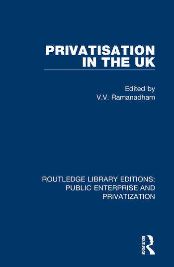 Privatisation in the UK book cover