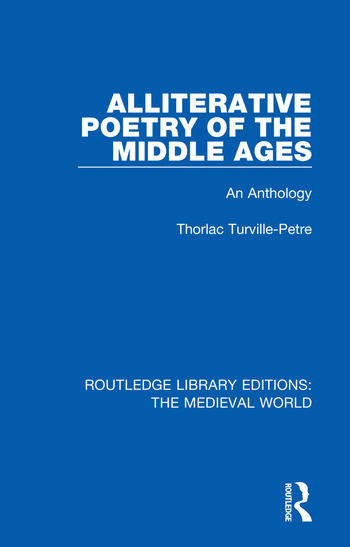 Alliterative Poetry of the Later Middle Ages An Anthology book cover