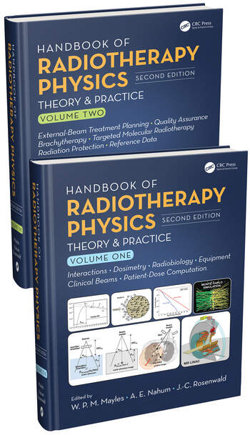 Handbook of Radiotherapy Physics Theory and Practice, Second Edition, Two Volume Set book cover