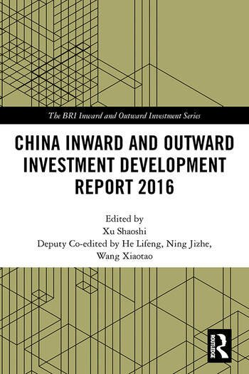 China Inward and Outward Investment Development Report 2016 book cover