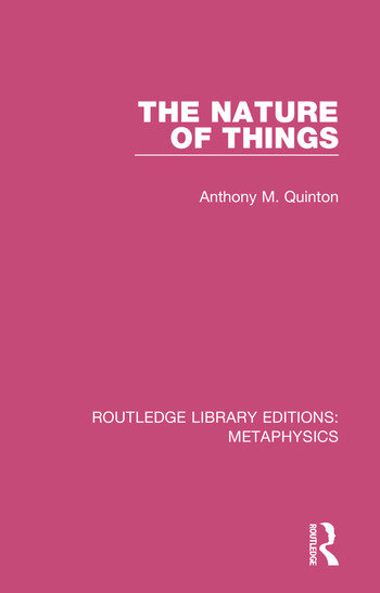 The Nature of Things book cover