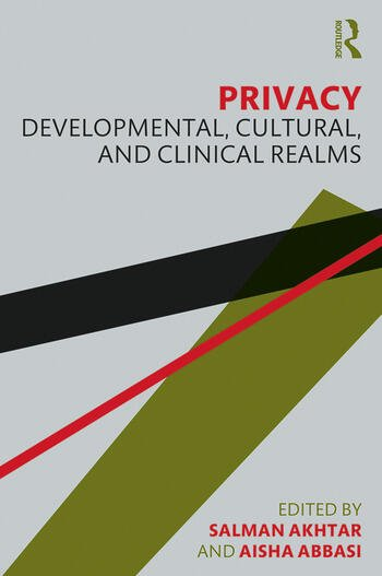 Privacy Developmental, Cultural, and Clinical Realms book cover