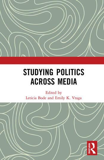 Studying Politics Across Media book cover