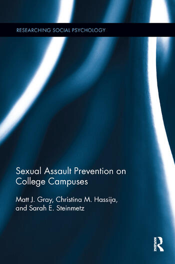 Sexual Assault Prevention on College Campuses book cover