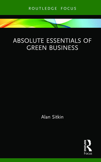 Absolute Essentials of Green Business book cover