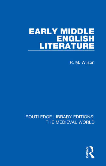 Early Middle English Literature book cover