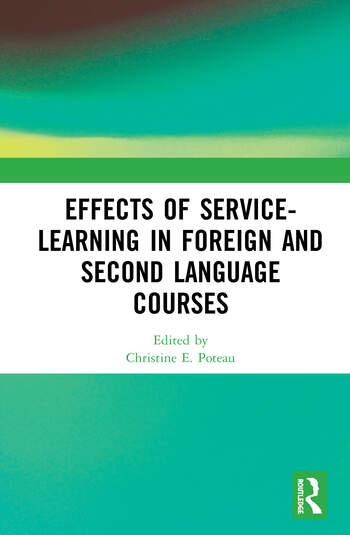 Effects of Service-Learning in Foreign and Second Language Courses book cover