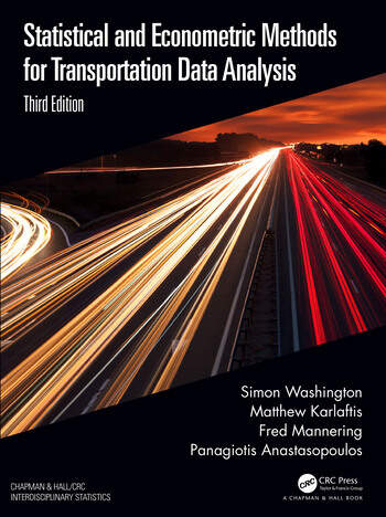 Statistical and Econometric Methods for Transportation Data Analysis book cover