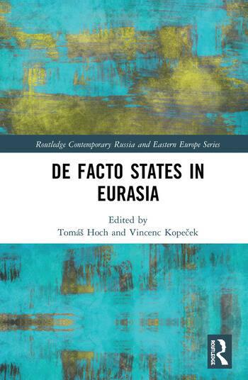De Facto States in Eurasia book cover