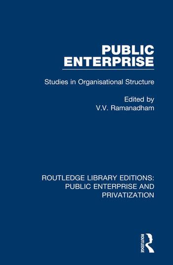 Public Enterprise Studies in Organisational Structure book cover