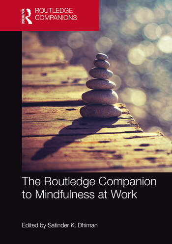 The Routledge Companion to Mindfulness at Work book cover