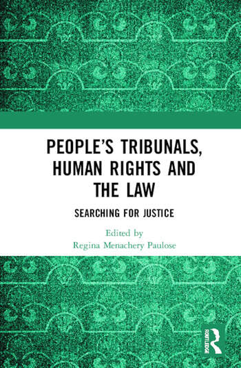 People's Tribunals, Human Rights and the Law Searching for Justice book cover