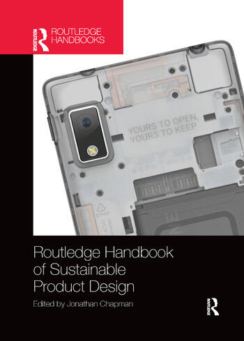 Routledge Handbook of Sustainable Product Design book cover