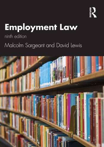 Employment Law 9e book cover
