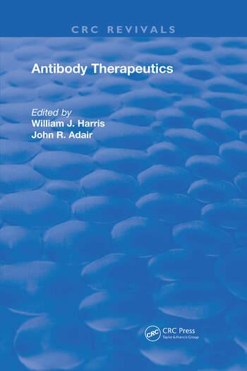Antibody Therapeutics book cover