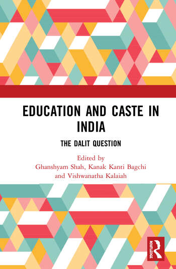 Education and Caste in India The Dalit Question book cover