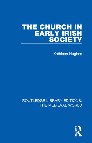 The Church in Early Irish Society book cover