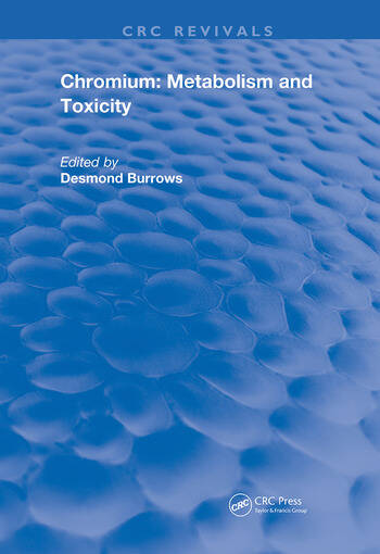 Chromium Metabolism and Toxicity book cover