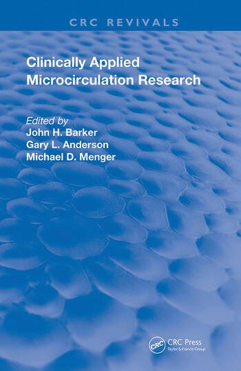 Clinically Applied Microcirculation Research book cover