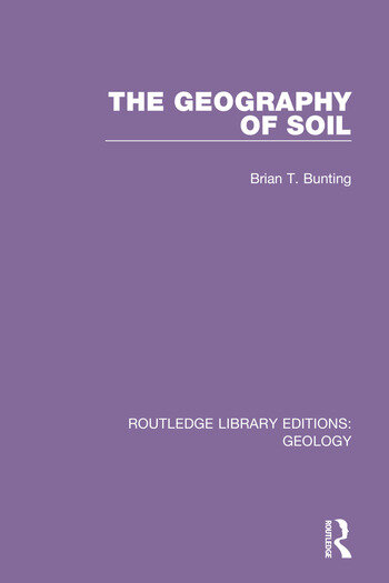 The Geography of Soil book cover