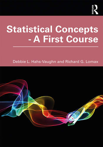 Statistical Concepts - A First Course book cover