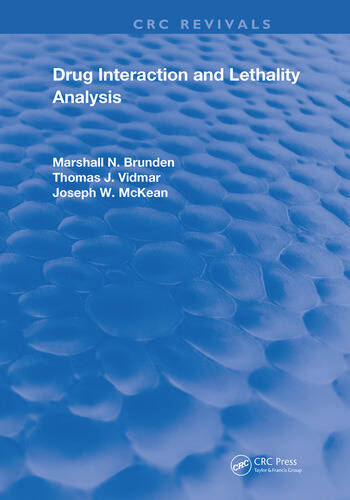 Drug Interaction & Lethality Analysis book cover