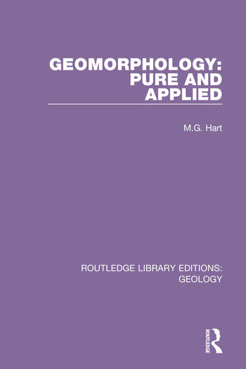Geomorphology: Pure and Applied book cover