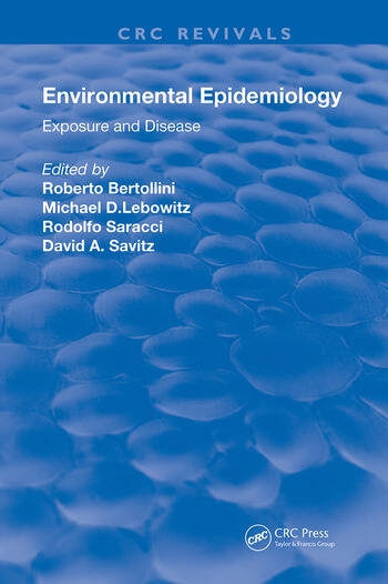 Environmental Epidemiology Exposure and Disease book cover