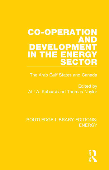 Co-operation and Development in the Energy Sector The Arab Gulf States and Canada book cover