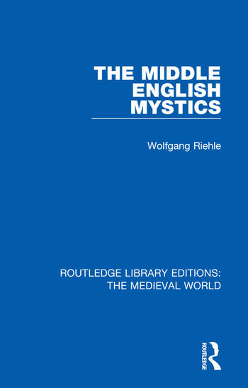 The Middle English Mystics book cover
