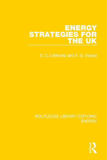 Energy Strategies for the UK book cover