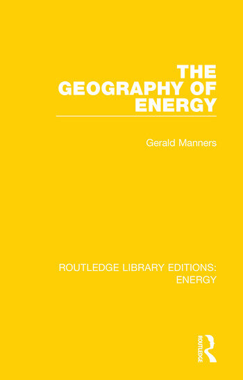 The Geography of Energy book cover